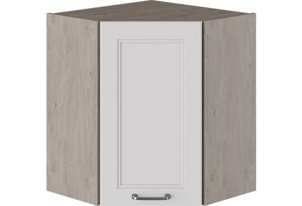 Шкаф навесной угловой с углом 45° (ОДРИ (Белый софт)) - фото 1