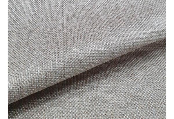 Прямой диван Эллиот бежевый/коричневый (Рогожка) - фото 8