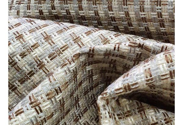 Угловой диван Монако Корфу 02/Коричневый/Цветы (Корфу/экокожа/рогожка) - фото 10
