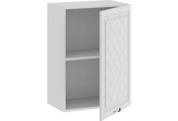 Шкаф навесной c одной дверью «Бьянка» (Белый/Дуб белый) - фото 2