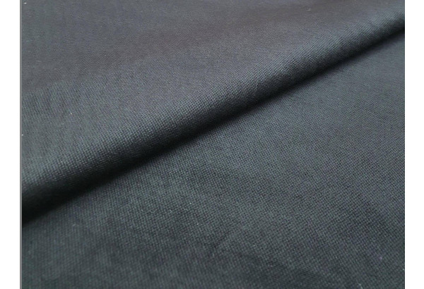 Кухонный угловой диван Мерлин Черный (Микровельвет) - фото 8