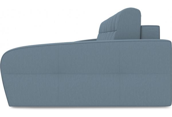 Диван угловой правый «Аспен Т2» (Poseidon Ocean (иск.замша) серо-голубой) - фото 4
