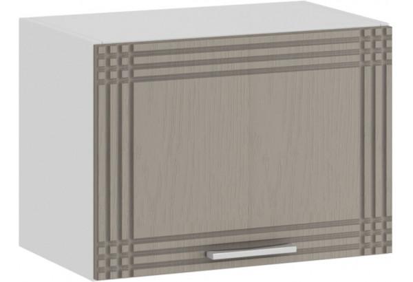 Шкаф навесной c одной откидной дверью «Ольга» (Белый/Кремовый) - фото 1