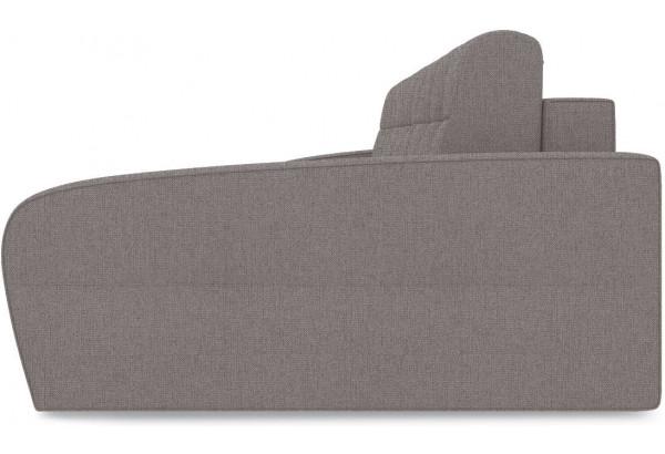 Диван угловой правый «Аспен Slim Т2» (Levis 25 (рогожка) Светло - коричневый) - фото 4