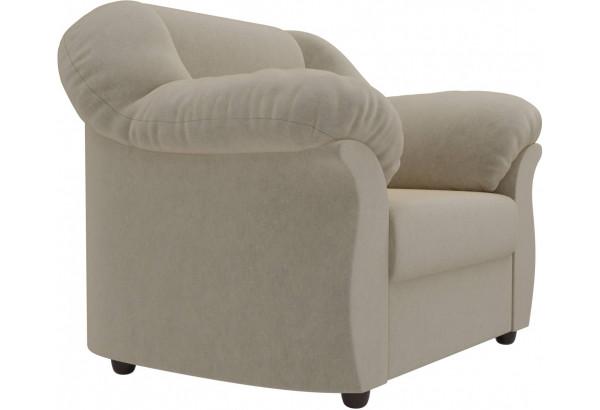 Кресло Карнелла Бежевый (Микровельвет) - фото 3