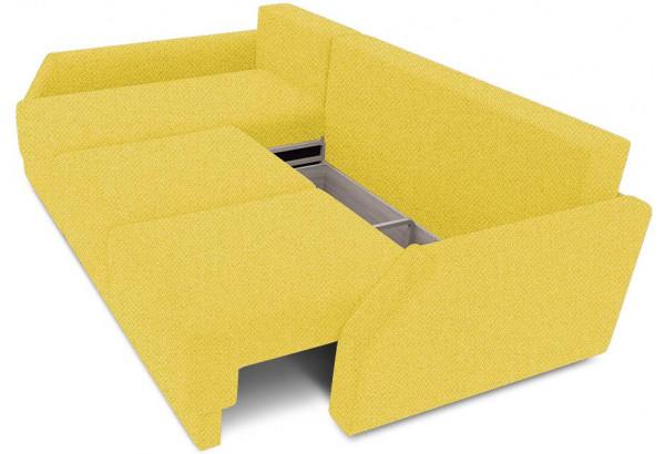 Диван угловой левый «Люксор Slim Т2» (Neo 08 (рогожка) желтый) - фото 6