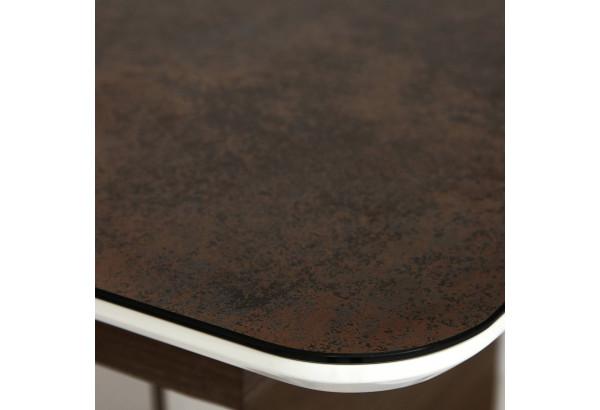 """Стол """"Radcliffe"""" коричневый / черный - фото 4"""