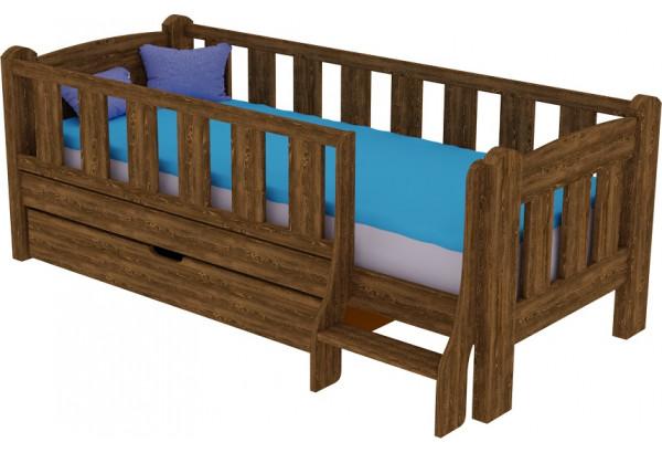 Детская кровать «Сказка» с лестницей - фото 3