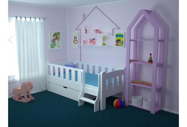 Детская кровать «Сказка» с лестницей - фото 2