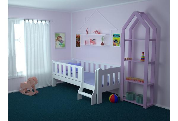 Детская кровать «Сказка» с лестницей - фото 4