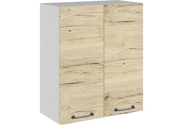 Лофт Навесной шкаф 600 мм, с дверцами - фото 2