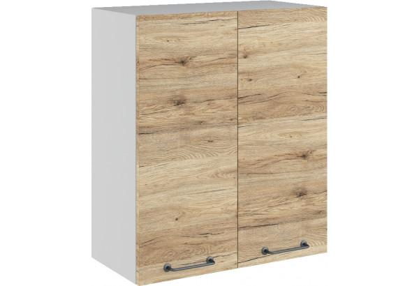 Лофт Навесной шкаф 600 мм, с дверцами - фото 4