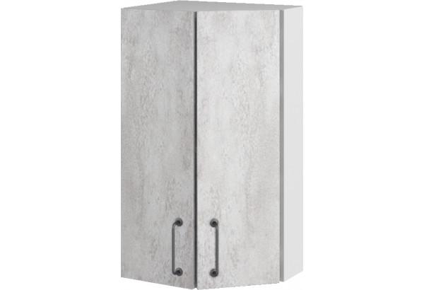 Лофт Навесной шкаф Торцевой 400 мм, угловой - фото 3