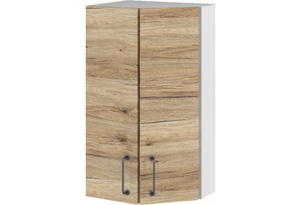 Лофт Навесной шкаф Торцевой 400 мм, угловой - фото 4