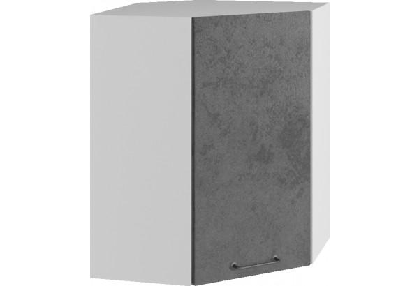 Лофт Навесной шкаф Угловой 550 мм с дверцей - фото 1