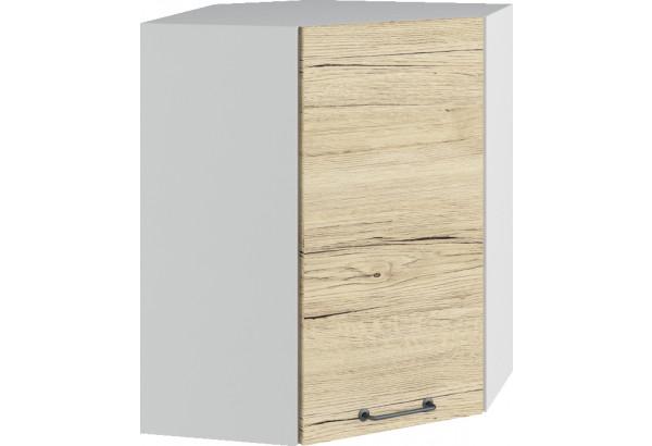 Лофт Навесной шкаф Угловой 550 мм с дверцей - фото 2