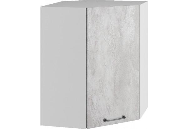 Лофт Навесной шкаф Угловой 550 мм с дверцей - фото 3