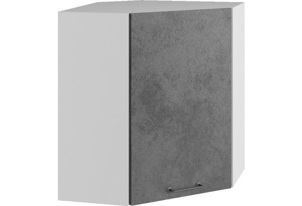 Лофт Навесной шкаф Угловой 600 мм с дверцей - фото 1