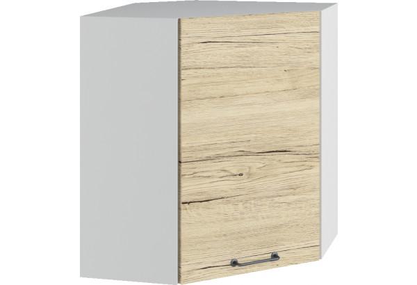 Лофт Навесной шкаф Угловой 600 мм с дверцей - фото 2