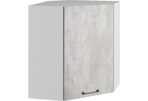 Лофт Навесной шкаф Угловой 600 мм с дверцей - фото 3