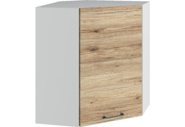 Лофт Навесной шкаф Угловой 600 мм с дверцей - фото 4