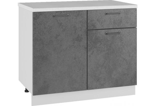 Лофт Напольный шкаф 1000 мм, с дверцами - фото 1
