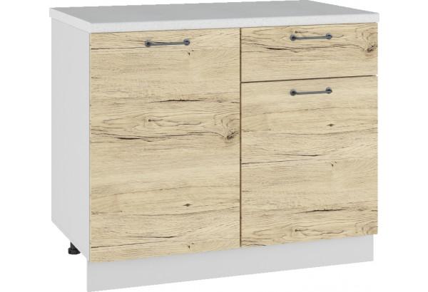 Лофт Напольный шкаф 1000 мм, с дверцами - фото 2