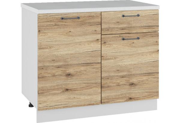 Лофт Напольный шкаф 1000 мм, с дверцами - фото 4