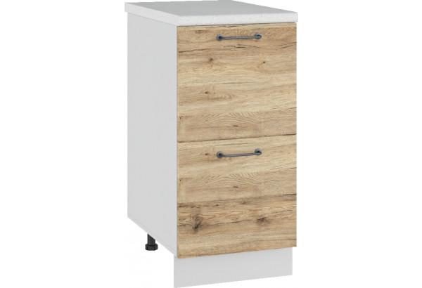 Лофт Напольный шкаф 400 мм, с ящиками - фото 4