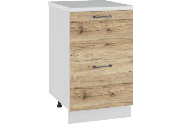 Лофт Напольный шкаф 500 мм, с ящиками - фото 4