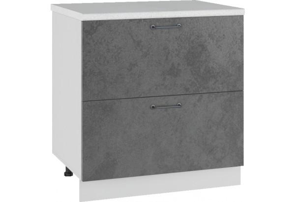 Лофт Напольный шкаф 800 мм, с ящиками - фото 1