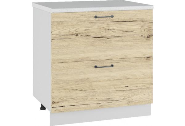 Лофт Напольный шкаф 800 мм, с ящиками - фото 2