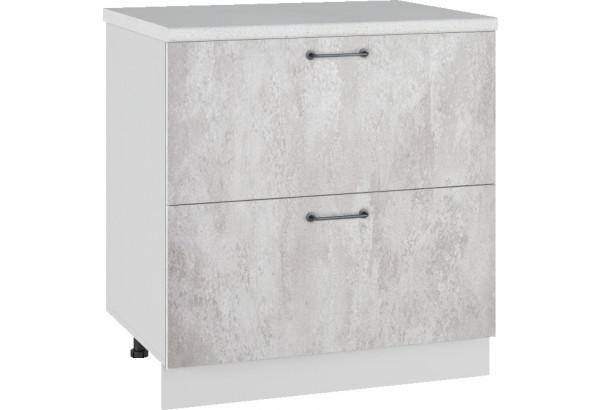 Лофт Напольный шкаф 800 мм, с ящиками - фото 3