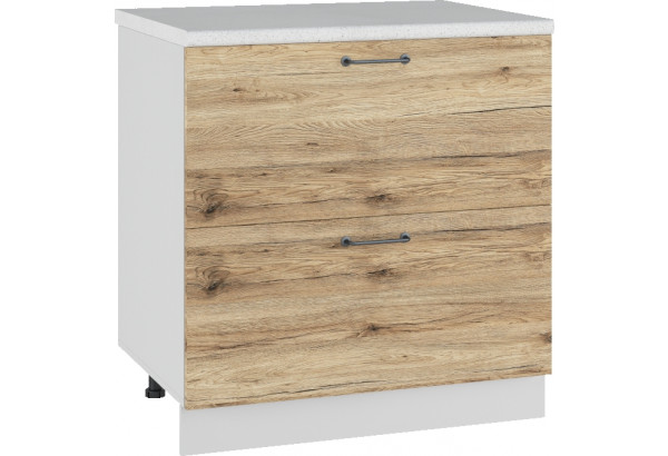 Лофт Напольный шкаф 800 мм, с ящиками - фото 4