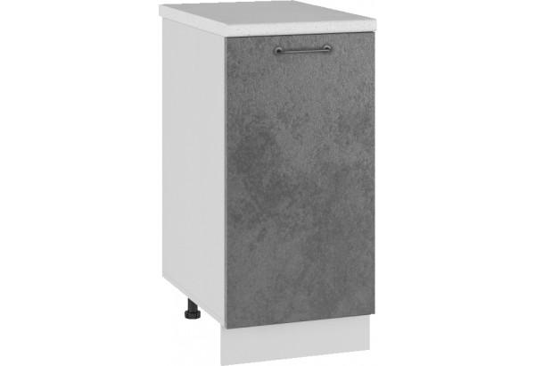 Лофт Напольный шкаф 400 мм, с дверцей - фото 1
