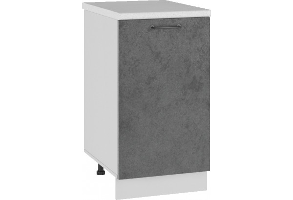 Лофт Напольный шкаф 450 мм, с дверцей - фото 1