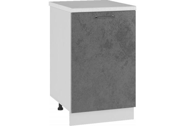 Лофт Напольный шкаф 500 мм, с дверцей - фото 1