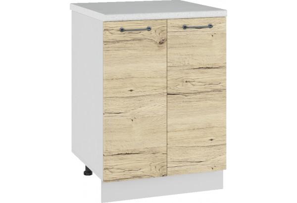 Лофт Напольный шкаф 600 мм, с дверцами - фото 2