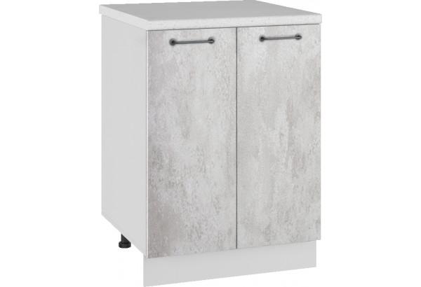 Лофт Напольный шкаф 600 мм, с дверцами - фото 3