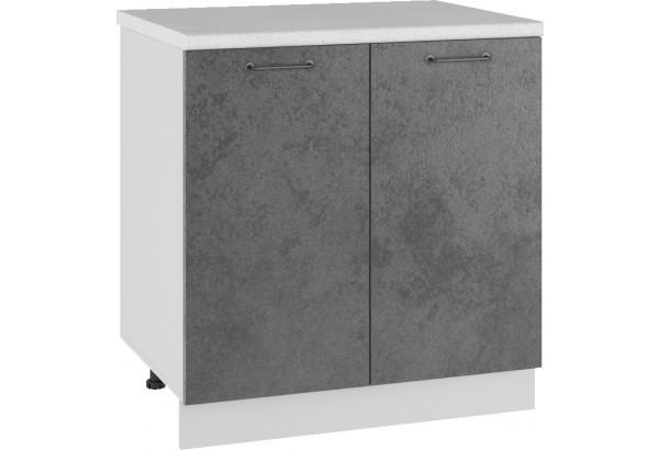 Лофт Напольный шкаф 800 мм, с дверцами - фото 1
