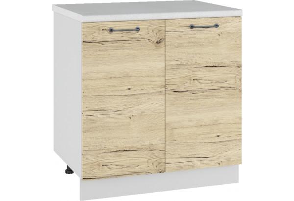 Лофт Напольный шкаф 800 мм, с дверцами - фото 2