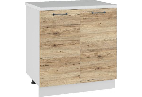 Лофт Напольный шкаф 800 мм, с дверцами - фото 4