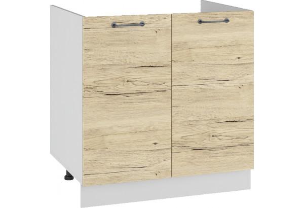 Лофт Напольный шкаф под мойку 800 мм, с дверцами - фото 2