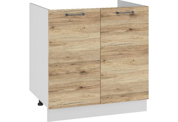 Лофт Напольный шкаф под мойку 800 мм, с дверцами - фото 4