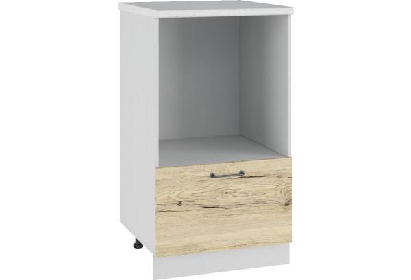 Лофт Напольный шкаф с нишей под микроволновку 600 мм - фото 2