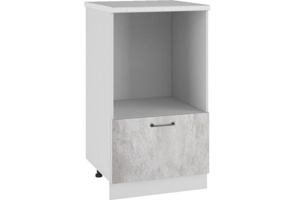 Лофт Напольный шкаф с нишей под микроволновку 600 мм - фото 3