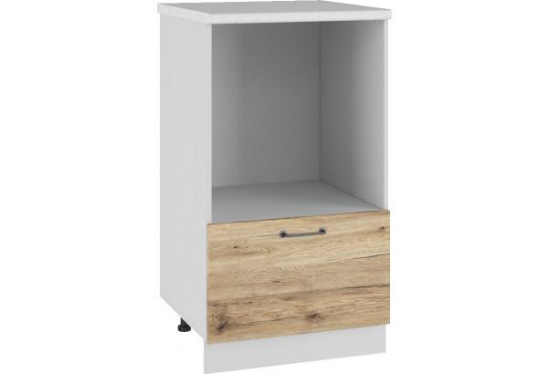 Лофт Напольный шкаф с нишей под микроволновку 600 мм - фото 4
