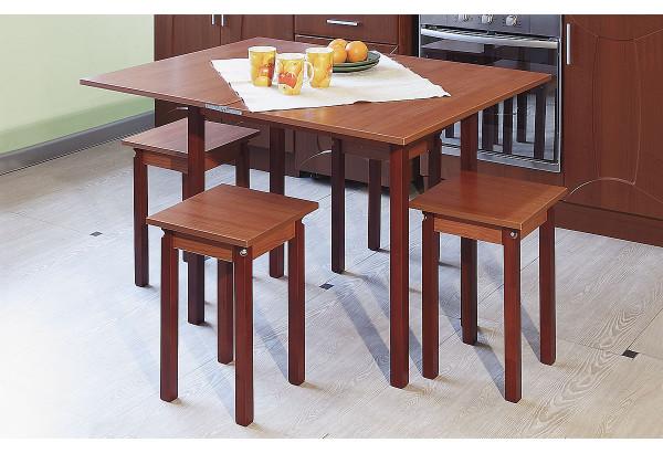 Стол обеденный ЛДСП (прямая нога) не раскладной - фото 3