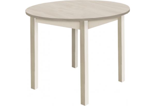 Стол раздвижной с круглой крышкой - фото 1