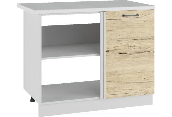 Лофт Напольный шкаф угловой стыковочный 1050 мм, с дверцей - фото 2